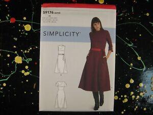 Simplicity Sewing Pattern S9176 BB Misses' Women's Dress Dresses Sz 20W-28W