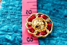 100% Chanel button 1 pieces   metal cc logo 22 mm 0,9 inch 💔💔💔