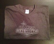 """GILDAN Heavy Cotten Men's """"Welcome To Las Vegas"""" Graphic T-Shirt Size L"""