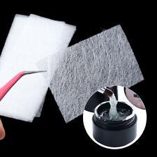 10Pcs Nail Art Non-woven Silk Fiberglass + Extension UV Gel for Tips Fiber Kit