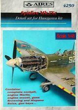 Aires 1/48  Spitfire Mk.IXc Detail Set for Hasegawa kit # 4250