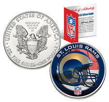 St.Louis Rams 29.6ml .999 Argent fin AMERICAN EAGLE US pièce de monnaie NFL