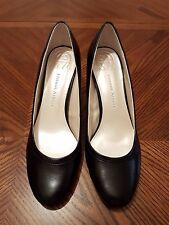 ETIENNE AIGNER Tilda Black Man Made Material Med Heel Round Toe Pump Shoes Sz 9M