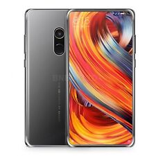 For Xiaomi Mi Mix 2s Clear Slim Gel Case & Glass Screen Protector