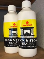 500ml Hotspot Brick and Stone Sealer Protector for a Natural Finish , fireplace