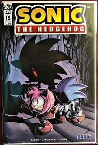 SONIC The HEDGEHOG Comic Book IDW #15 Cover B March 2019 Bagged Boarded MINT