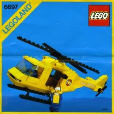 LEGO Town Rescue-I Helicopter (6697) (Vintage)