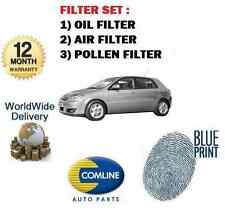 FOR TOYOTA COROLLA VERSO 1.6i 2001-2004 SERVICE OIL AIR POLLEN FILTER KIT
