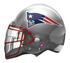 "NFL New England Patriots Football Helmet 21"" Foil Balloon Double Sided 3 Pack"