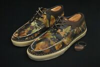 Stained Vans Vault Horween Brushed Camo Shoes Camouflage Men 12 Moc LX Keychain