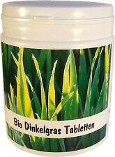 SANOS  Bio Dinkelgras Tabletten, 500g,  1250 Tabletten, aus eigenem Anbau