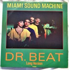 "Miami Sound Machine – Dr. Beat 12"" Vinyl Single 1984 Funk/Soul/Disco TA4614 UK"