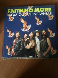 """Faith No More From Out Of Nowhere 12"""" VINYL"""