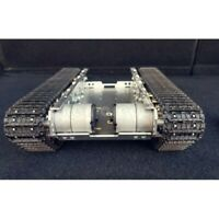 Assembled RC Tank Chassis Metal Tracked Robot Smart WiFi Shock Absorption #SZ