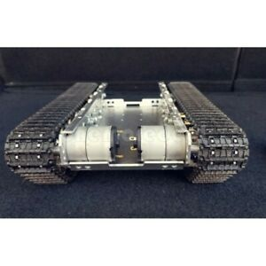 DIY Kits RC Tank Chassis Metal Tracked Robot Smart WiFi Shock Absorption #SZ