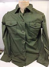 Women's Utility Shirt Durable Press OG-507 Vietnam dated 79' size 16Long