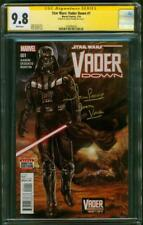 Star Wars Darth Vader Down 1 CGC 9.8 SS David Prowse remark Mark Brooks Cover