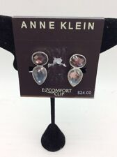 $24 Anne Klein ez clip clip earrings AK507