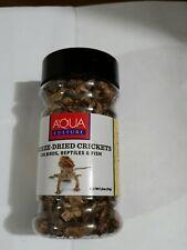 Aqua Culture Freeze-Dried Crickets for Birds, Reptiles & Fish 1.2 Oz