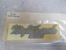 NOS OEM Honda Left Side Cover Emblem(A.M.)1982-83 CB450S Nighthawk 87127-MC9-670