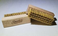 Sneaker Shoe Cleaning Wood Brush 1 or 2+ Pack Cleaner for Suede, Canvas, Leather
