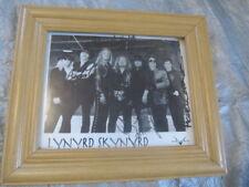 Autographed by LYNYRD SKYNYRD Signed by 7 members  (JSA) MINT