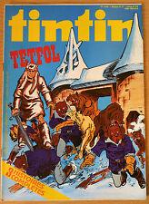 BD Comics Magazine Hebdo Journal Tintin No 47 34e 1979 Têtfol