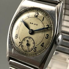 Very Rare! Vintage SEIKO SEIKOSHA Small Second Morris Type Hand-Winding #466