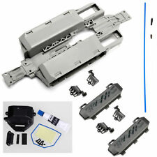 Traxxas 1/16 E-Revo VXL  CHASSIS, RECEIVER BOX, BATTERY DOORS, VENTS, ANTENNA