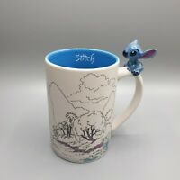 Disney Parks Rare Lilo & Stitch Large 3D Handle Mug
