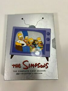 The Simpsons - The Complete First Season (DVD, 2001, 3-Disc Set, Collectors)
