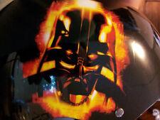 Skateboarding Helmet Darth Vader Disney Star Wars Size S/M Black Adj Straps 5+