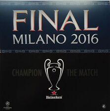 Map & Flyer UEFA CL Finale 2016 Atletico Madrid - Real Madrid