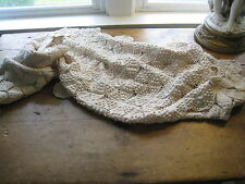 ENHANCE YOUR SOFA WITH THIS ANTIQUE COLLECTABLE PIECE~ELEGANTLY CROCHETED