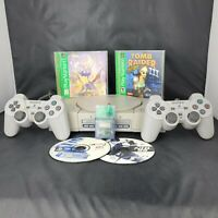 Sony Playstation 1 (PS1) Model SCPH-7501 Complete Console Spiro Memory Bundle