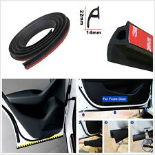 Car Door Edge Windshield P Type 4M Rubber Seal Strip Weatherstrip Sealing Hollow