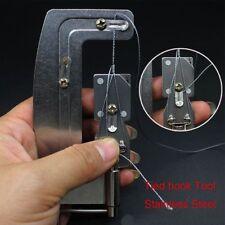 Professional Semi Automatic Quick Fishing Hook Line Tier Tie Binding Tools