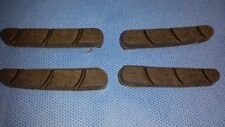 Bicycle Brake Pads for Carbon Fibre Wheels x 4 Pads - Cycle Brake Pads Bremse