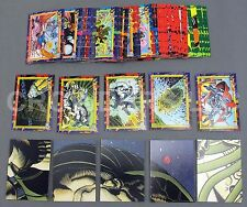 Superman Bloodlines '93 79 Trading Cards & 2 Check Lists Skybox DC Comic Good-VG