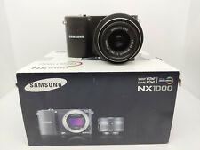 Samsung NX1000 20MP APS-C mirrorless camera - boxed