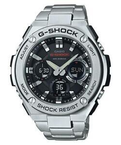 Casio G-Shock G-Steel Analogue/Digital Solar Mens Watch GSTS110D-1A