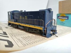 "Athearn #3702 HO DC BALDWIN S-12 B&O #9274 with ""MASHIMA"" can motor, used"