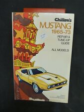 Mustang 1965-73 Repair and Tune up Guide      Lot A-081