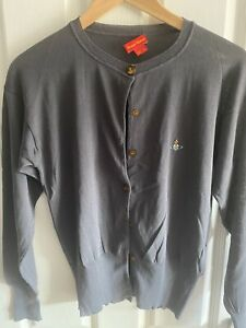 Vivienne Westwood Red Label Orb Cardigan - Grey - Size L