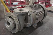 "Ampco 3x3 HCH (8.5"" Impeller) Stainless Pump w/25HP Motor - NEW Surplus!"