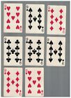 8 - C1937 Chesapeake And Ohio Lines Swap Playing Cards -  NINES With Chessie