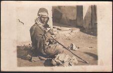 Syrie - Liban. Mendiant bédouin. Provenance archive Libanaise