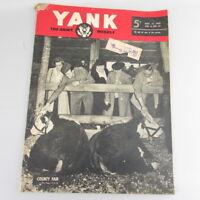 WWII WW2 Yank Nov 16 1945 Vol 4 No. 22 Pat Clark  - FREE SHIPPING