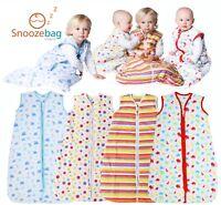 Snoozebag Baby Sleeping Bag 100% Cotton 2.5 Tog 2017 Version - Clearance Sale!