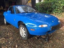 Mazda MX5 MK1 Eunos Roadster NA 1.6 Automatic Mariner Blue (DU) Breaking Spares